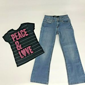 Old Navy Jordache Girls Outfit Sz S 7